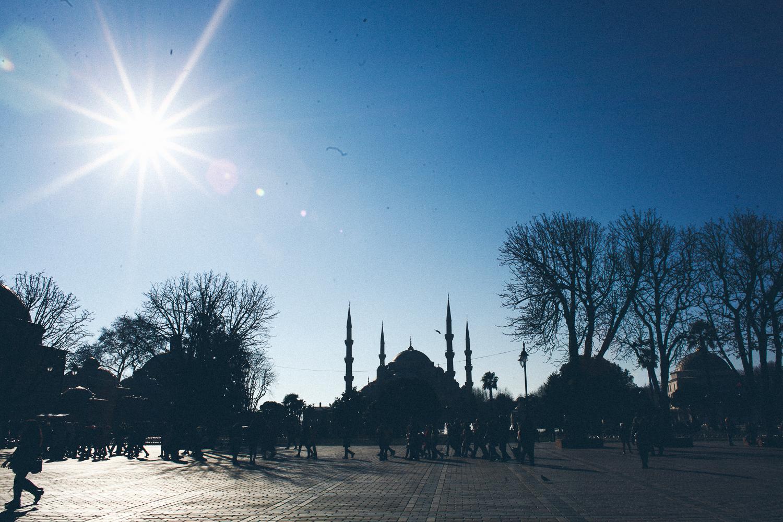 Фотосессия в Стамбуле